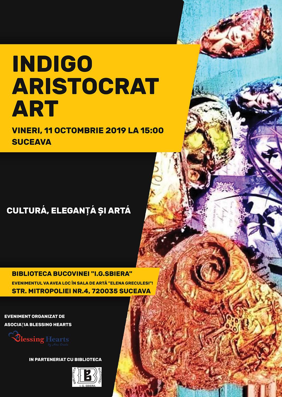 Indigo Aristocrat Art