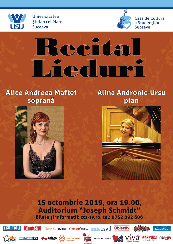 Recital Lieduri