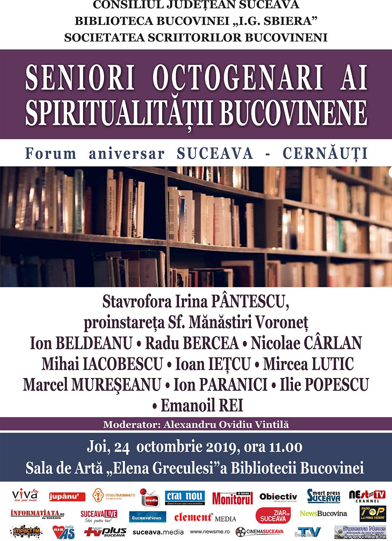 Seniori octogenari ai spiritualității Bucovinei