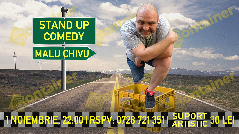 Stand-up comedy cu Malu Chivu