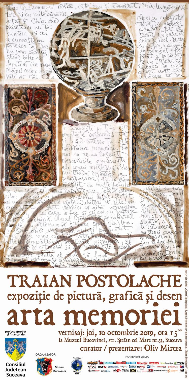 Traian Postolache – Arta memoriei