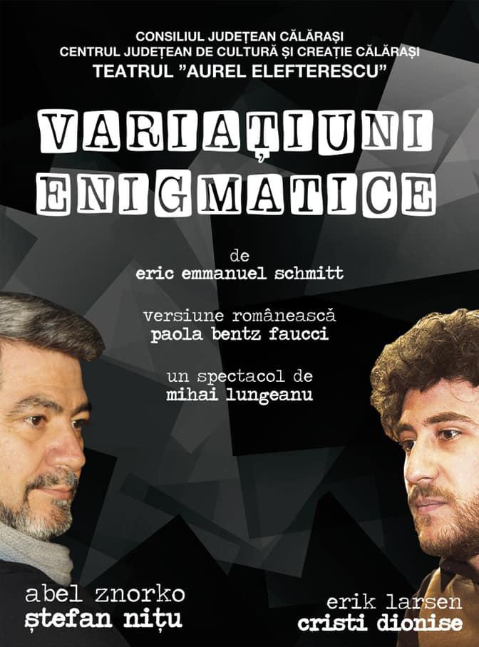 Variațiuni enigmatice