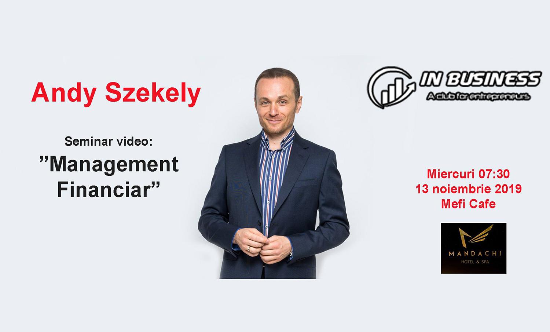 Andy Szekely – Managemant Financiar