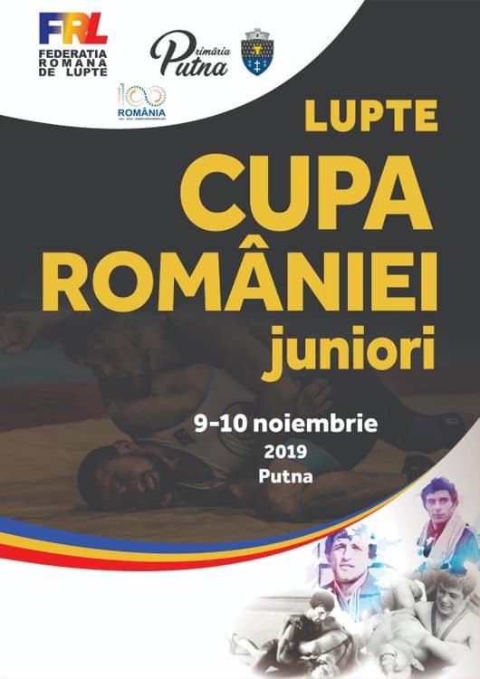 Cupa României la Lupte pentru juniori