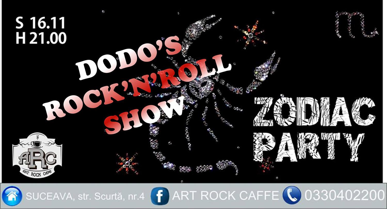 Dodo's Rock'n'Roll Show - Zodiac Party (1) - Scorpio