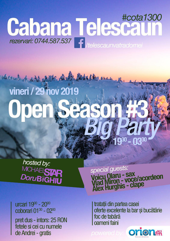 Open Season #3 – Big Party