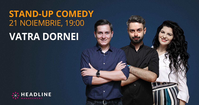 Stand-up comedy cu George Tănase, Radu Bucălae și Ioana State