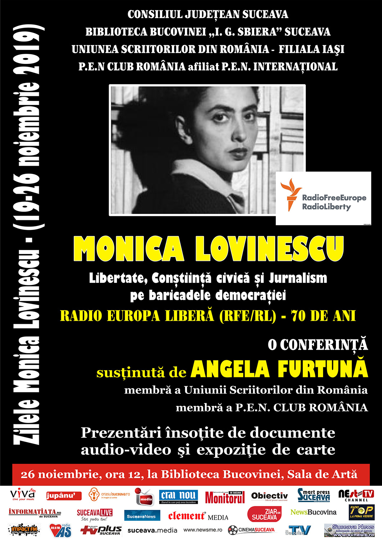 Zilele Monica Lovinescu (2019)