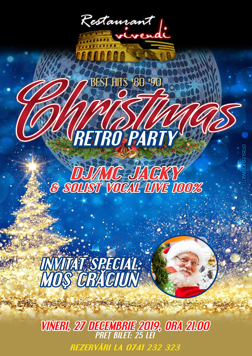 Christmas Retro Party
