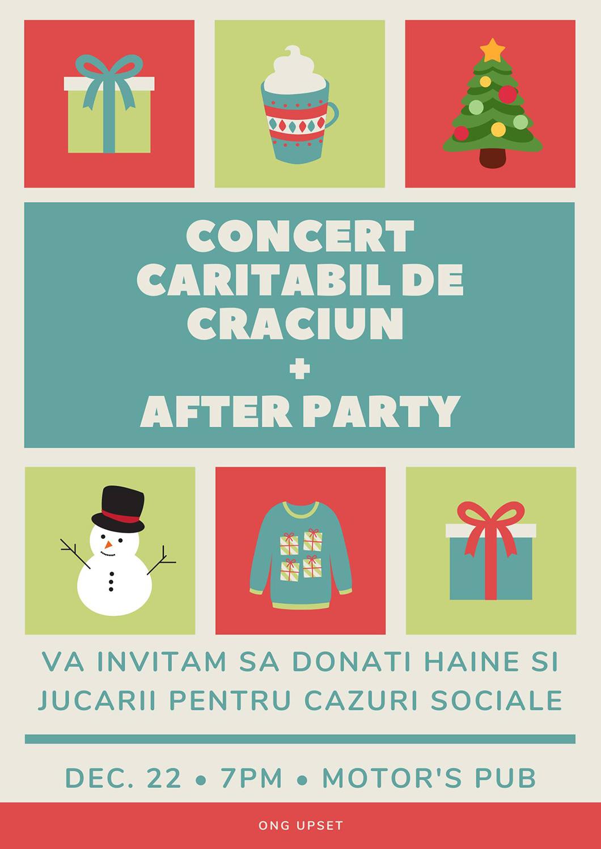 Concert caritabil de Crăciun