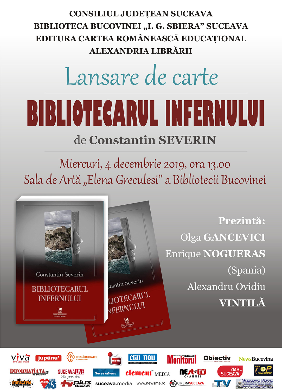 Constantin Severin – Bibliotecarul infernului