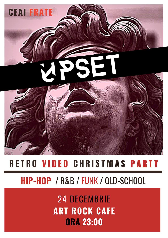 Retro Video Christmas Party