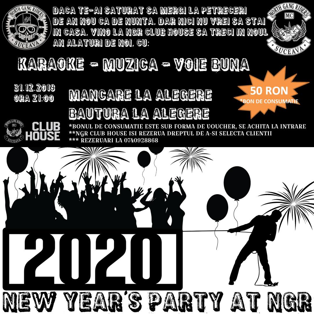 Revelion (2020) - NGR Club House (Suceava)