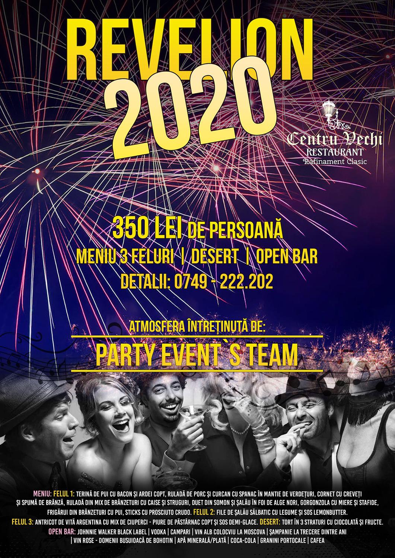 Revelion (2020) - Restaurant Centru Vechi (Suceava)