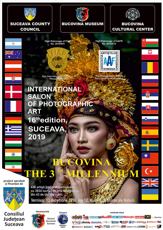 Salonul Internațional de Artă Fotografică Bucovina Mileniul III (2019) - expoziție