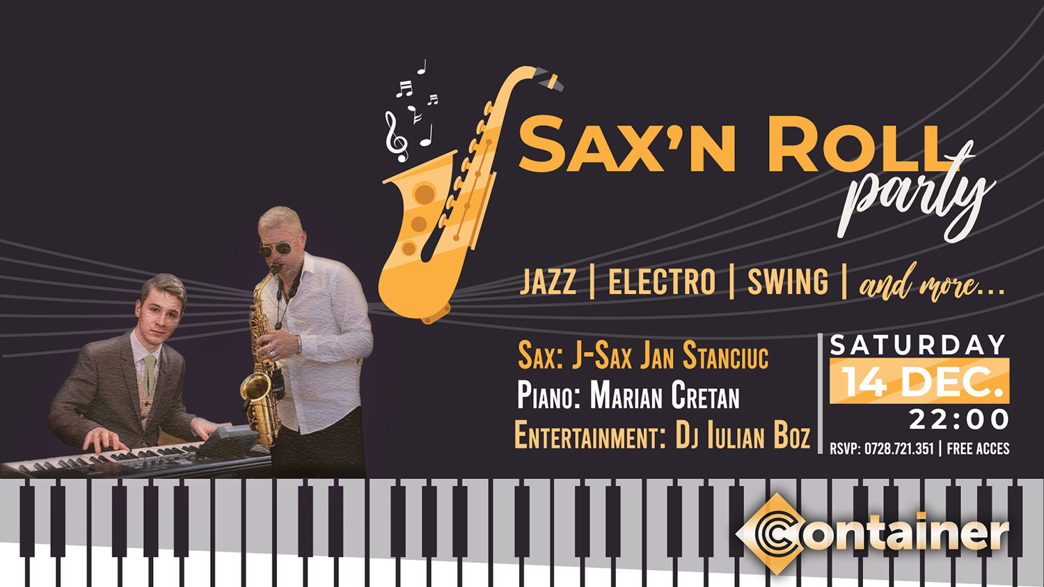 Sax'n Roll Party