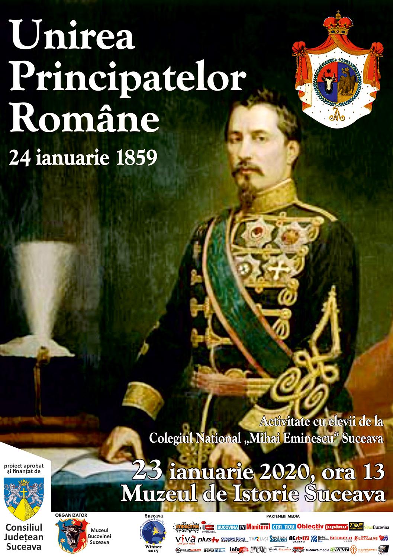 Activitate dedicată Unirii Principatelor Române la Muzeul de Istorie din Suceava