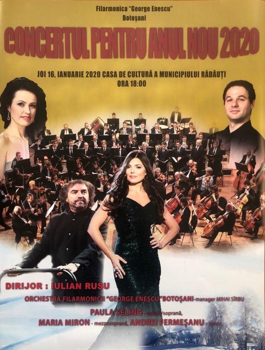 Concert pentru Anul Nou 2020