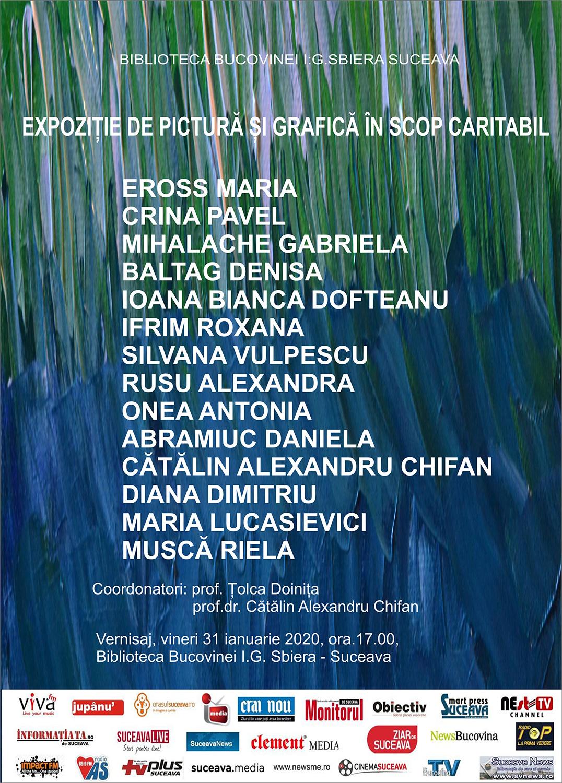 Expoziție de pictură și grafică