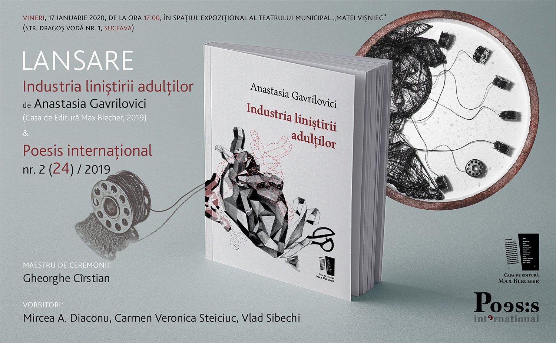 Industria liniștirii adulților / Poesis internațional