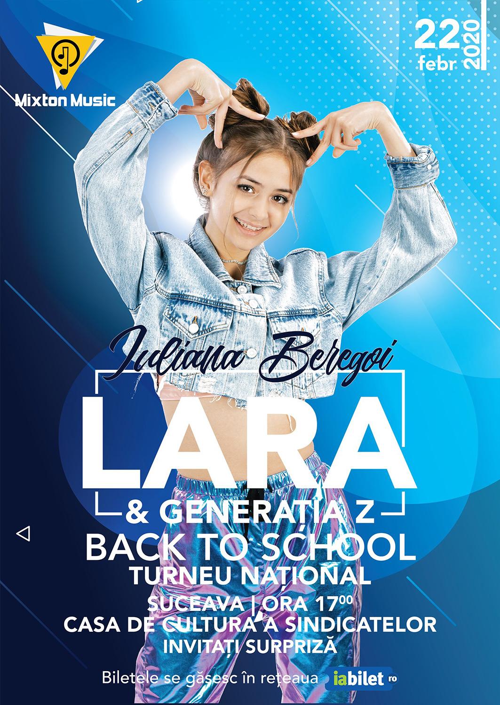 Iuliana Beregoi - Lara & Generatia Z Back to School