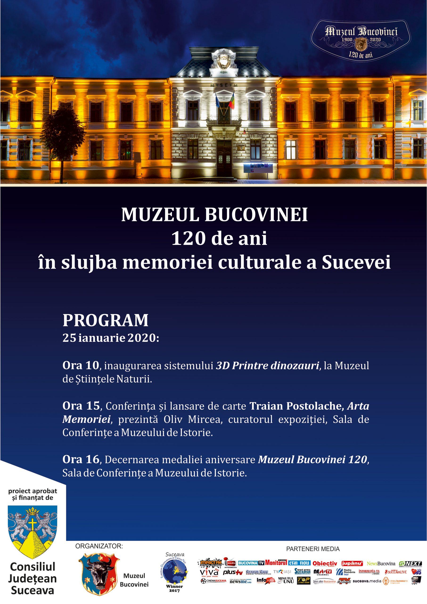Muzeul Bucovinei – 120 de ani în slujba memoriei culturale a Sucevei