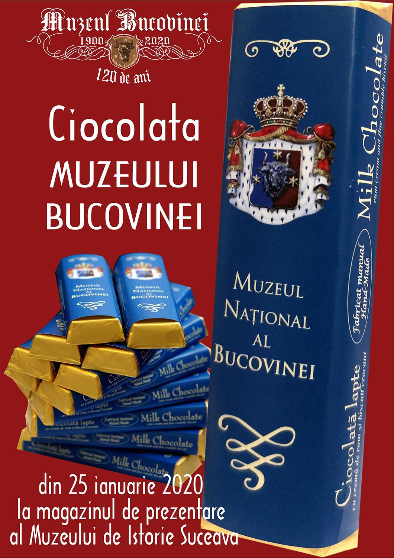Muzeul Bucovinei va propria marcă de ciocolată