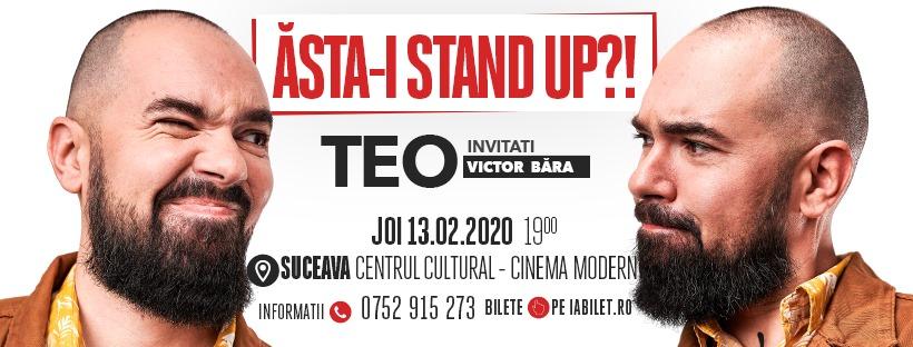 Stand-up comedy cu Teo și Victor Băra