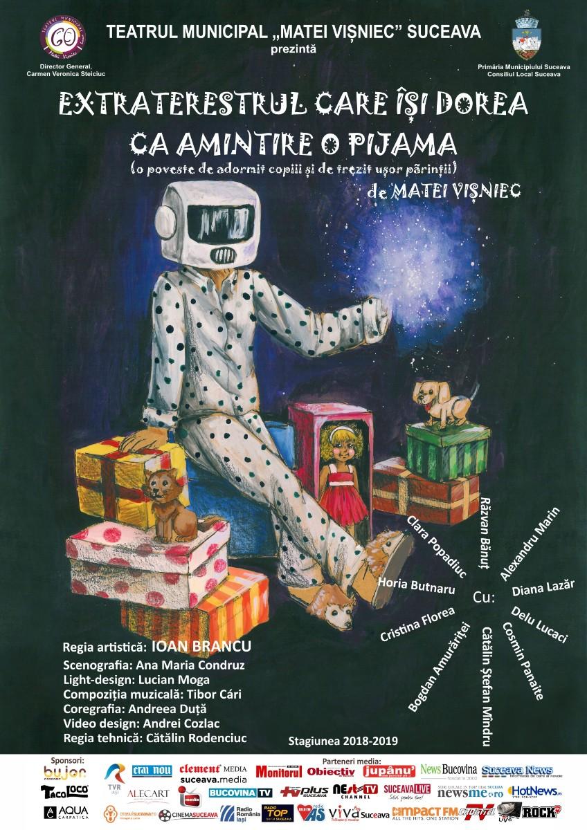 Extraterestrul care își dorea ca amintire o pijama