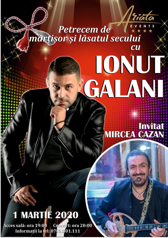 Ionuț Galani și Mircea Cazan