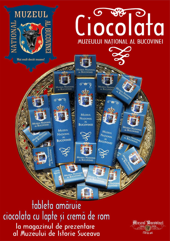 Muzeul Național al Bucovinei a lansat un nou tip de ciocolată