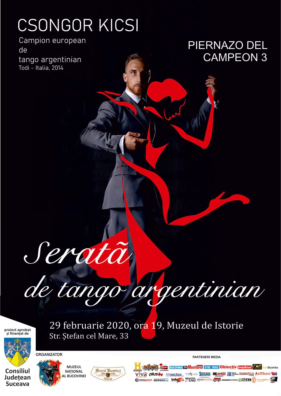 Seară de tango argentinian