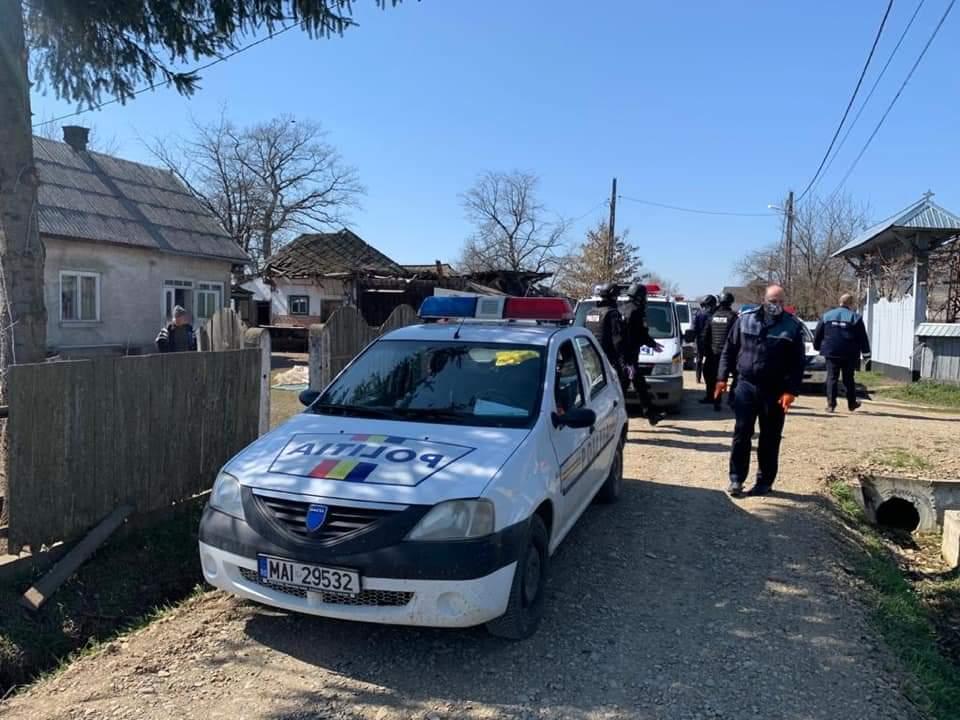 Acțiuni cu polițiștii din cadrul Serviciului pentru Acțiuni Speciale în cătune din localitățile rurale
