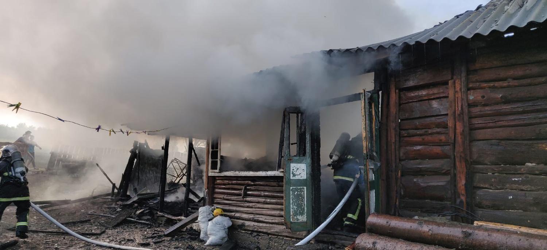 Incendiu în comuna Ilișești