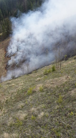 Incendiu în satul Bobeica din comuna Izvoarele Sucevei