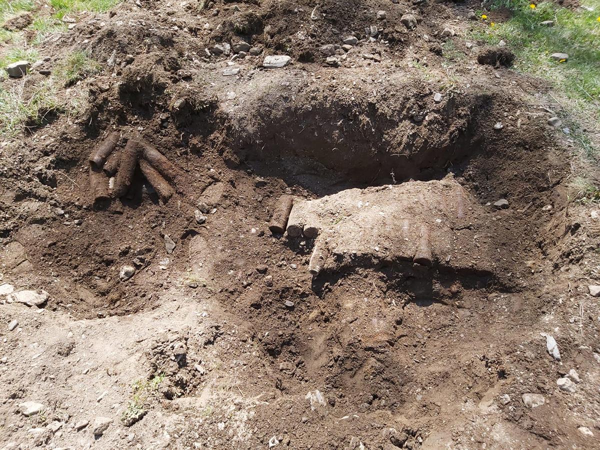 Misiuni de asanare și distrugere a muniției neexplodate realizate de ISU Suceava la Broșteni