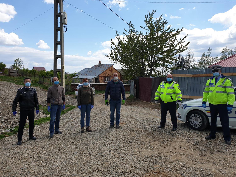 Polițiștii și societatea civilă sunt alături de comunitățile defavorizate din județul Suceava
