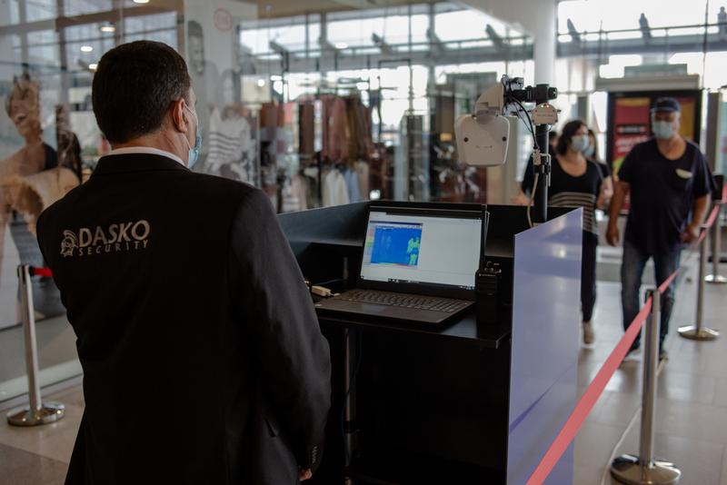 Sistem video online de verificare a gradului de ocupare în Iulius Mall Suceava
