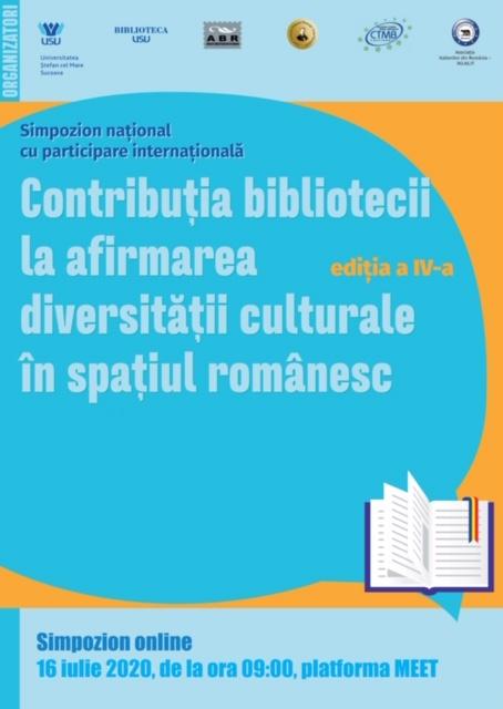Contribuția bibliotecii la afirmarea diversității culturale în spațiul românesc