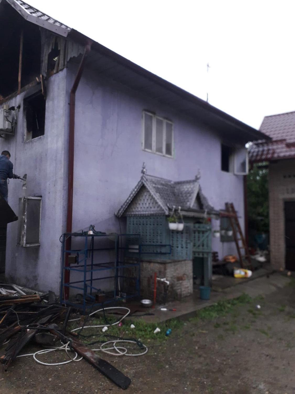 Incendiu în satul Gura Solcii, comuna Grănicești
