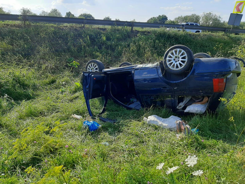 Accident rutier pe raza comunei Bunești