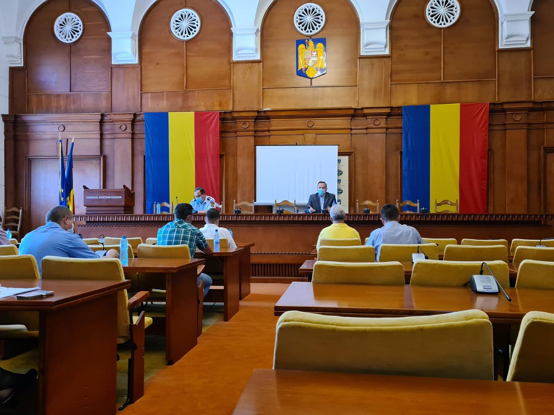 Concluziile ședinței extraordinare a Comitetului Județean pentru Situații de Urgență din data de 31 August 2020