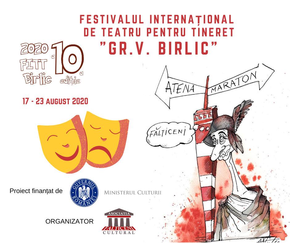 Festivalul Internațional de Teatru pentru Tineret Grigore Vasiliu Birlic (2020)