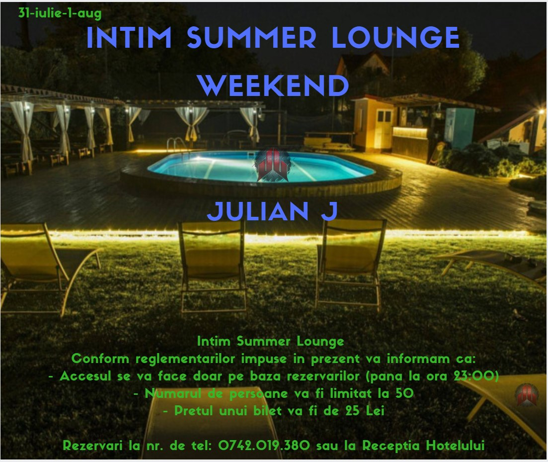 Intim Summer Lounge Weekend