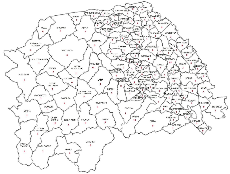 Situația epidemiologică la nivelul județului Suceava în data de 28 August 2020