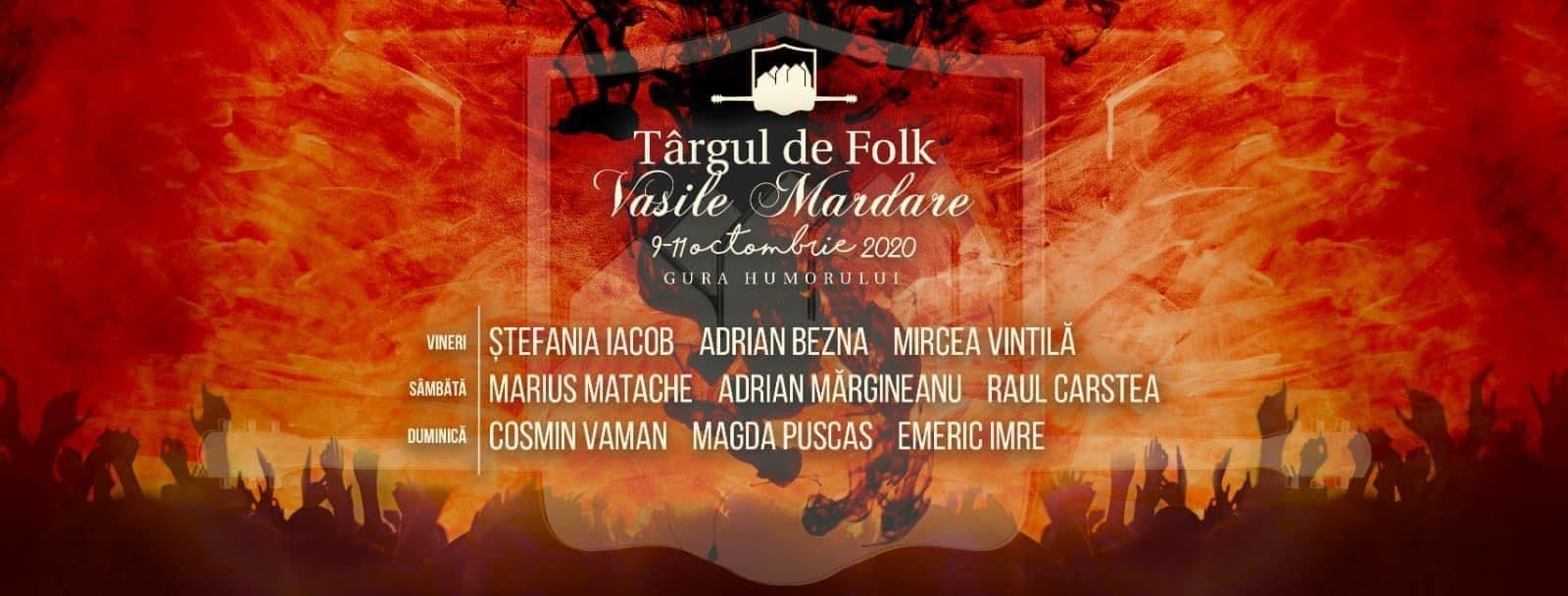 Târgul de Folk Vasile Mardare (2020)