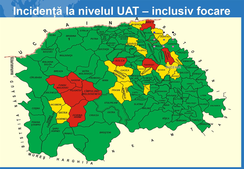 Comitetul Județean pentru Situații de Urgență (CJSU)  a analizat situația epidemiologică de la nivelul județului Suceava