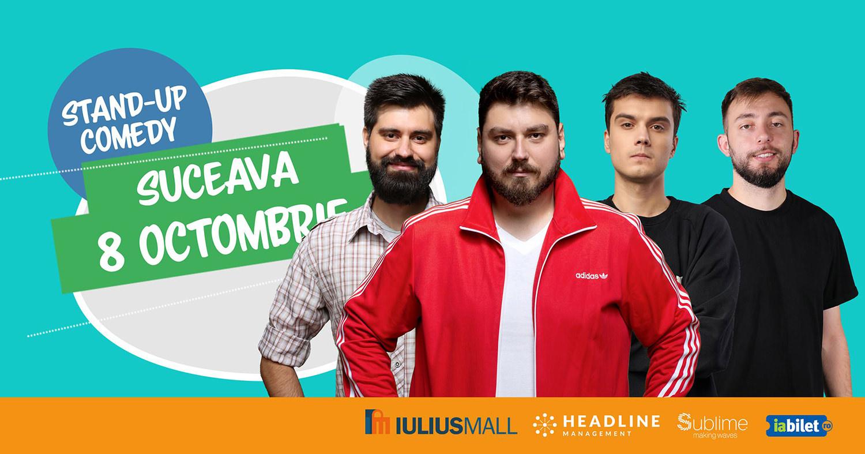 Stand-up comedy cu Micutzu, Geo, Mirică și Cîrje