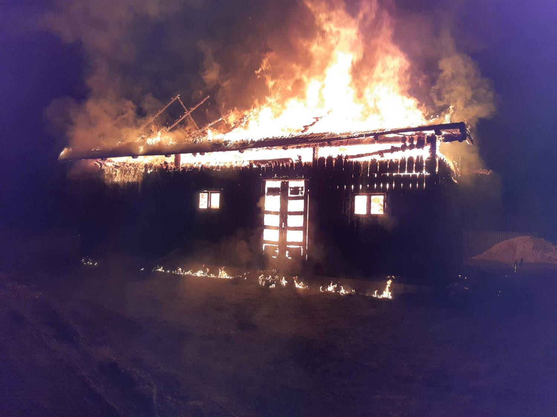 Incendiu în localitatea Șaru Dornei