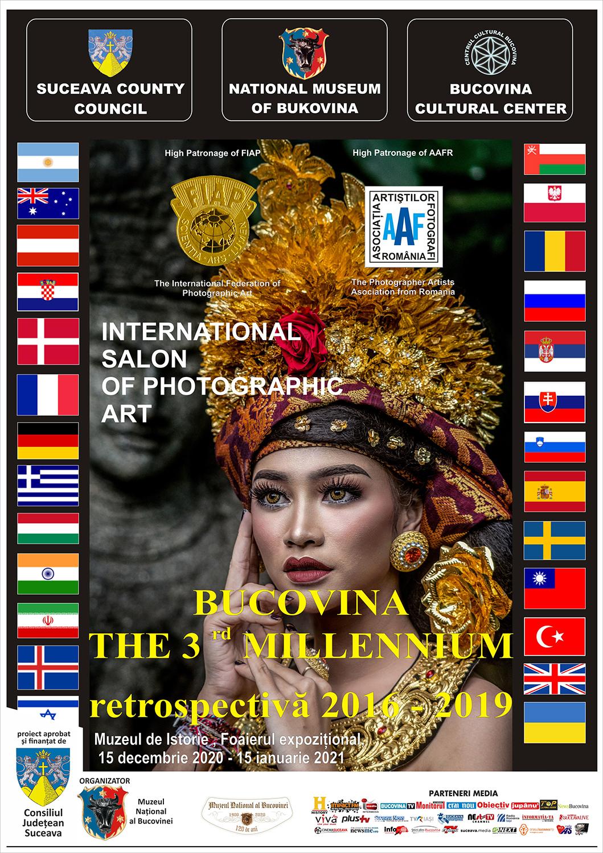 Salonul Internațional de Artă Fotografică Bucovina Mileniul III – Retrospectiva 2016-2019